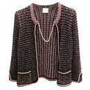 jacket with chain - Chanel