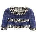 trendy cropped tweed jacket - Chanel