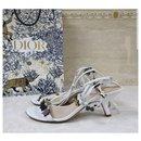 Christian Dior 2017 Porte Bonheur Sandals Size 38,5