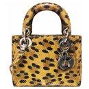 python leopard Lady Dior