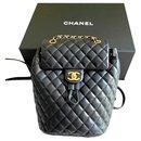 Chanel urban spirit backpack bag
