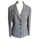 CHANEL Jacket style Rooster Foot T44 Bon état - Chanel