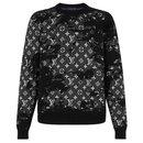 LV Distressed Mono sweater - Louis Vuitton