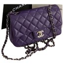 Timeless Classic Flap Bag in Lambskin with Silver Hardware - Chanel
