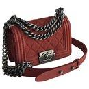 W/card, box, dustbag Boy Limited Flap Bag - Chanel