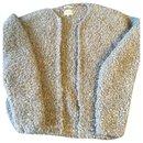 Olive green terry wool cardigan - Bellerose