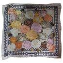 Hermès Roseraie shawl
