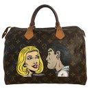 Louis Vuitton Speedy Pop Art bag