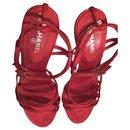 Vintage Dress Sandals - Chanel