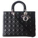 LADY DIOR BLACK BAG - Dior