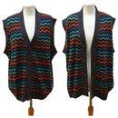 Missoni vintage sweater vest