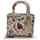 Bag Christian Dior Lady Dior Médium Rosa Mutabilis Embroidered Bag