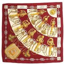 HERMES Cliquetis silk scarf - Hermès