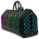 Extremely rare ultra-limited bag / Men's Fall-Winter Show 2019/ Louis Vuitton Keepall bag 50 Light Up shoulder strap