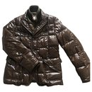 Moncler brown puffer jacket T4