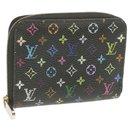 LOUIS VUITTON Monogram Multicolor Zippy Coin Purse Black M93740 LV Auth yk956 - Louis Vuitton