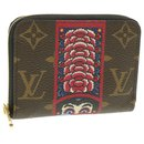 LOUIS VUITTON Monogram Kabuki Zippy Coin Purse M62394 LV Auth br164 - Louis Vuitton
