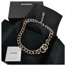 Vintage Chanel gold choker necklace