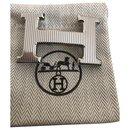 Boucle de ceinture Hermès modèle H