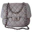 Sac Chanel Classique gris