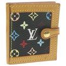 LOUIS VUITTON Monogram Multicolor Porte Photo 2 Volet Photo Case M58002 LV 21058 - Louis Vuitton