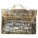 Hermès Kelly Translucent Souvenir Clear Vinyl Satchel