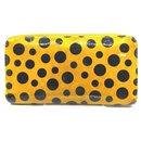 Yellow Kusama Infinity Pumpkin Dots Zippy Wallet Zip Around - Louis Vuitton