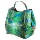 Green Python ific Hobo 2WAY bag 3Dr01 - Dior