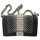 Chanel Medium Boy Bag with Pearls  - Limited Edition