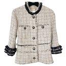 6,7K$ Ruffle Tweed Jacket - Chanel