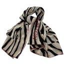 Chale geant Louis Vuitton zebra