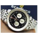BREITLING Navitimer1 b01 black Dial Bracelet AB0121 Mens - Breitling