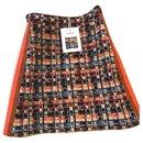 5,2K$ New HAMBURG Tweed Skirt - Chanel