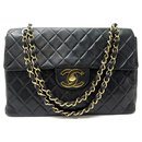 VINTAGE CHANEL TIMELESS MAXI JUMBO HANDBAG IN QUILTED LEATHER HAND BAG - Chanel