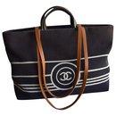 Large CC Shopping Tote Bag 38 cm - Chanel