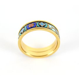 Michaela Frey-Rings-Blue,Multiple colors,Golden,Green,Orange