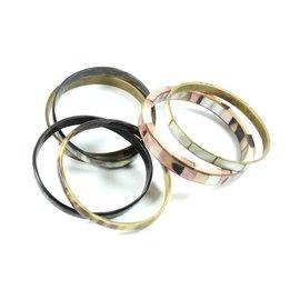 inconnue-Lot de 6 bracelets-Multicolore