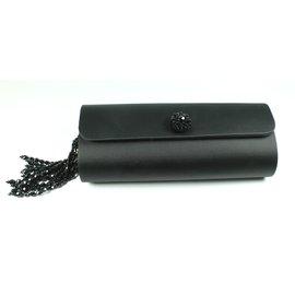 Glorinha Paranaguá-Clutch bags-Black
