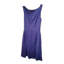 Moschino-Robe-Violet