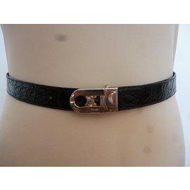 Céline-Belts-Black