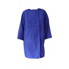 Carven-Trench imperméable-Bleu