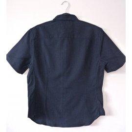 Carven-Chemise-Bleu