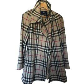 Burberry-Coats, Outerwear-Beige