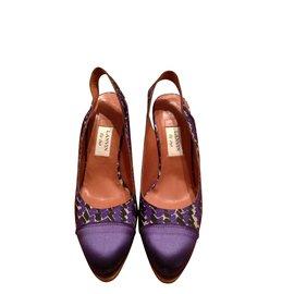 Lanvin-Escarpins-Violet