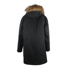 Yves Salomon-Coats, Outerwear-Black