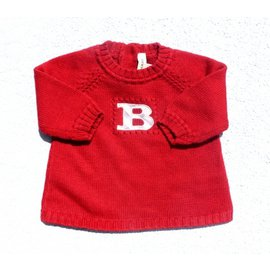 Burberry-Knitwear-Red