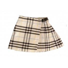Burberry-Skirts-Beige