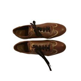 Louis Vuitton-Sneakers-Brown