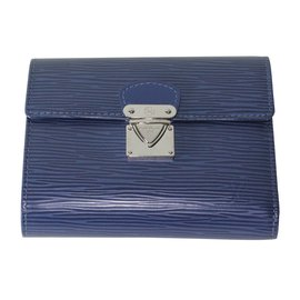 Louis Vuitton-Portefeuille-Bleu