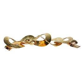 Louis Vuitton-Bracelet manchette-Doré